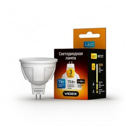 LED лампа VIDEX MR16 7W GU5.3 4100K 220V