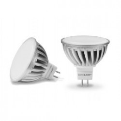 EUROLAMP LED Лампа Chrome MR16 5.5W GU5.3 4100K 12V